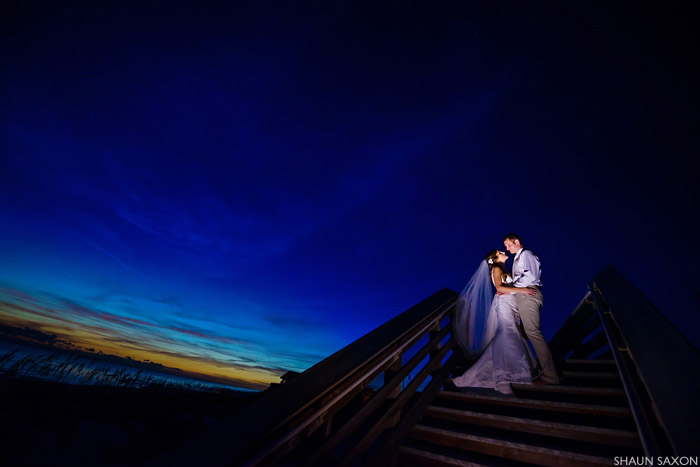 inlet beach wedding shaun saxon